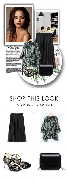 """""""Rosegal lady style"""" by sabine-rose ❤ liked on Polyvore"""
