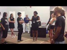 Five Handshakes In Five Minutes - fun, interactive ice-breaker - YouTube