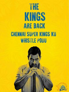 Dedicated to all CSK fans  Chennai super Kings whistle podu  #dhoni #csk