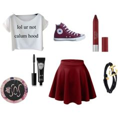 5sos concert outfit idea #1 lol ur not calum hood