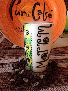 Marron café en portugués
