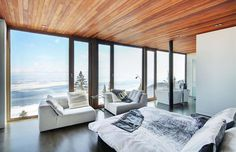 The standout feature of the property is the top level master bedroom with its wall-to-wall, ceiling-... - Christie's Real Estate