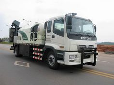 Efficient road maintenance machinery, Rich configuration of the road integrated maintenance car