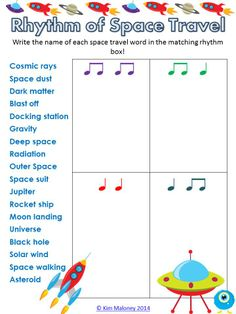 SET 4 of the very popular RHYTHM Worksheets Series! 12 RHYTHM worksheets each with a different theme! ANSWER sheets included! :-) $