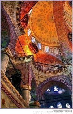 The Blue Mosque, Turkey…