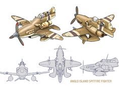 Spitfire??? by manmonkee.deviantart.com on @deviantART