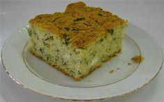 Peynirli Dereotlu Kek