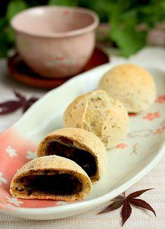 Mochi-Pfanne-schwarz-Sesam