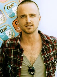 Aaron Paul- I swoon over this guy a lot when I'm watching Breaking Bad xD