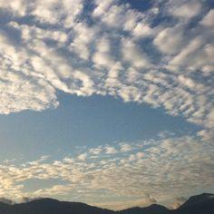 Otro cielo particular en Medellín