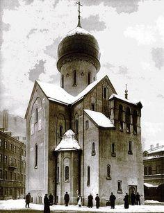 Во имя святого Николая Чудотворца церковь. / Бакунина проспект, 4. / Русские Церкви