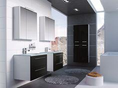 Kwadro 60 2S black.  #elita #meble #lazienka #kwadro #bathroom #furniture
