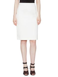 Modern Slim Suiting Skirt by OneForty8 by Lafayette 148 New York
