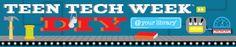 Teen Tech Week - get ideas, resources, etc. about spring Teen Tech Week.