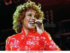 (dpa file) -A file picture dated 11 July 1998 shows US singer Whitney Houston during a UNICEF concert in Aschaffenburg,Germany. According to CNN, Houston died at the age of 48 ina hotel in Los Angeles in the afternoon of 11 February 2012 local time. The cause of death is not yet disclosed. Photo: Wolf-Dieter Weissbach - Stock Image