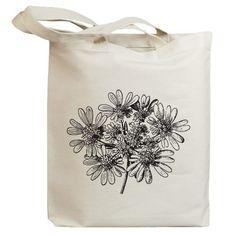 Flower Blossom 01 Eco Friendly Canvas Tote Bag