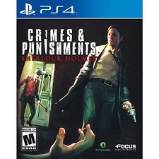 SONY Sony PlayStation 4 Game CRIMES & PUNISHMENT SHERLOCK HOLMES - P (SPG011750)