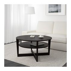 VEJMON Coffee table IKEA Separate shelf for magazines, etc.   helps you keep your things organized and the table top clear.