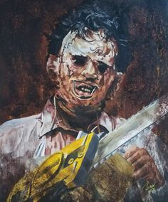 Leatherface by Shawn-Conn Horror Films, Horror Art, Horror Stories, Sci Fi Movies, Scary Movies, Re Animator, Texas Chainsaw Massacre, Cinema, Horror House