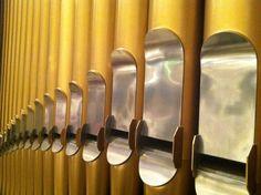 The Pipe Organ At Chautauqua, New York.  Taken August 2011