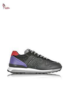Hogan Rebel Femme Hxw2610q901dyt0xl1 Multicolore Cuir Baskets - Chaussures hogan (*Partner-Link)