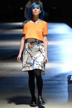 #Giles Fall 2014 Ready-to-Wear #boxy #layering