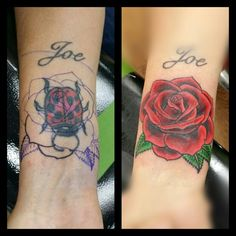 Rose cover-up.
