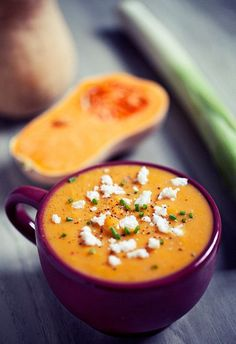 Roasted Pumpkin Leek Soup with Coconut Butter | Flickr – Photo Sharing!