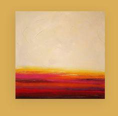 Large Original Acrylic Abstract Painting Titled by OraBirenbaumArt, $385.00