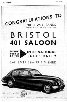 Bristol 1953