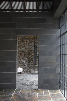 Honed Bluestone Cladding Pavers Wall Tiles By