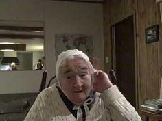 Ninety Year Old Singing A German Hymn - YouTube.........soooo precious ,great message