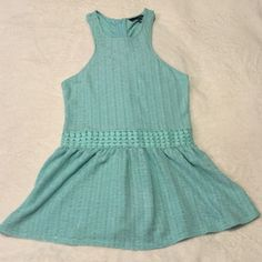 Ladakh Blue Top Super cute top. Never been worn. NWOT Ladakh Tops Blouses