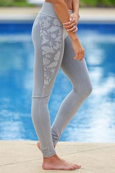 """***Use code """"REPLAUREN"""" for 10% off + Free Shipping!!!!***  Work For It Athletic Pants - Grey"""