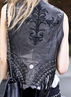 Killer Vest: Moto artisan glam