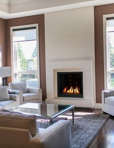 Concrete Fireplace Surrounds - contemporary - fireplaces - other metro - Dekko Concrete Decor