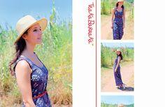 ¿Disfrutando de un paseo? #largo #verano #flores #print www.trakabarraka.com