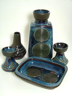 Vintage 1960's Danish Blue Series Soholm by MidCenturyMadMen, £65.00