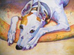Painting Portfolio Greyhound Art, Italian Greyhound, Greyhound Pictures, Skinny Dog, Lurcher, Beautiful Dogs, Beautiful Creatures, Cool Pictures, Cute Animals
