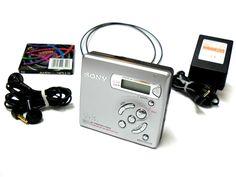 Sony MZ-R501 Portable MiniDisc Recorder - Silver