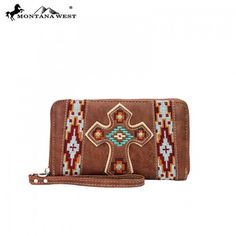 MW07-W003 Montana West Western Spirituall Collection Wallet