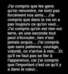 little sentences and big thoughts, Anime J'ai Compris, Words Quotes, Love Quotes, Love One Another Quotes, Guter Rat, Little Prayer, Motivational Quotes, Inspirational Quotes, French Quotes