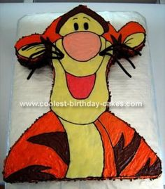 Cool+Homemade+Tigger+Cake