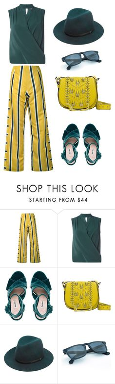 """""""In living color"""" by peppermintdm ❤ liked on Polyvore featuring Gwen Salakaia, Dorothy Perkins, Miu Miu, Sanctuary and rag & bone"""