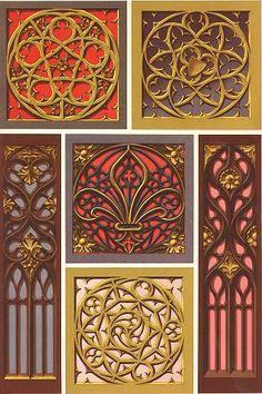 Орнамент и стиль в ДПИ - Архитектурные мотивы в готическом орнаменте