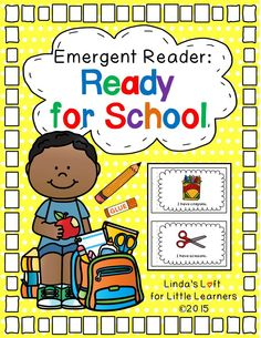 Ready for School has simple repetitive text that tells about all the supplies a youngster has for school. A sample story web for a whole group activity is included along with color clip art pictures.  (Preschool and Kdg.) $