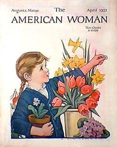 American Woman - Spring Flowers