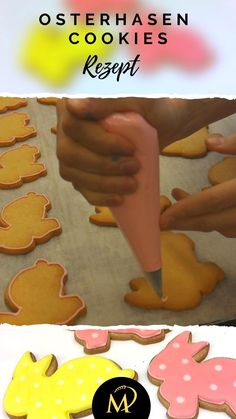 Royal Icing, Tray, Easter Bunny, Easter Activities, Tutorials, Simple, Deco, Recipes, Board