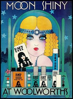 Baby Doll cosmetics at Woolworths, early 1970s