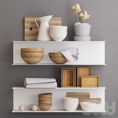 home and kitchen Home Gym Decor, Easy Home Decor, Kitchen Redo, Kitchen Styling, Wall Shelves, Shelving, Wooden Plates, Little Houses, Aluminium